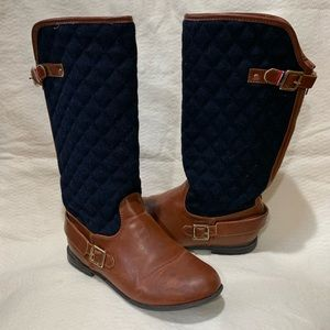 S19- 40- TOMMY HILFIGER ANDREA RIDING BOOT